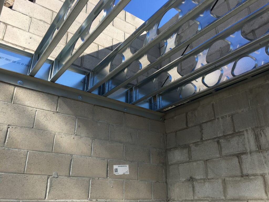 residential steel framing construction guide