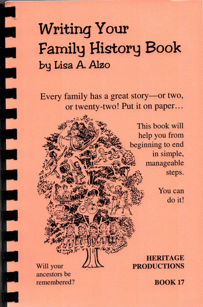 writing your family history a guide for family historians