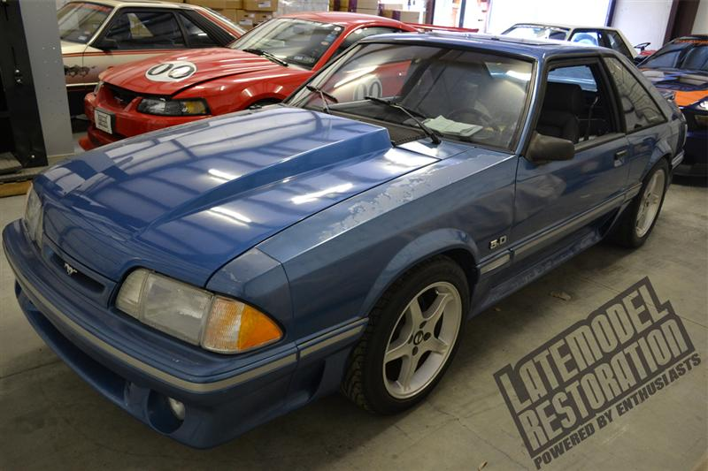fox body mustang restoration guide