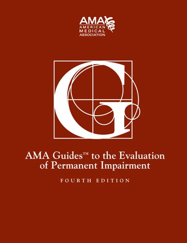 guides to the evaluation of permanent impairment 4th edition