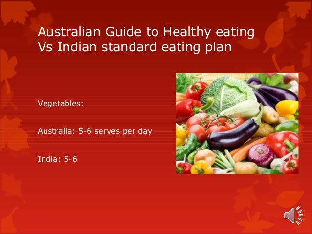 the australian guide to healthy eating
